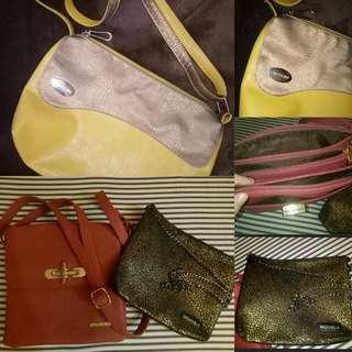 2 NEW + 1 PRELOVED BAG