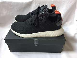 Adidas NMD R2 Black Original Size 46
