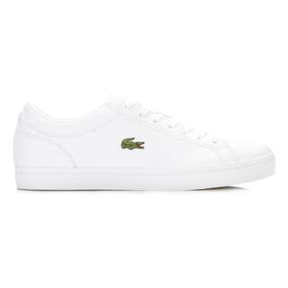 NEW Lacoste Straightset White Leather Sneakers Size 37.5 (FITS US 6.5-US7) UK £80=6,000 - Stan Smith or Common Projects alternative-