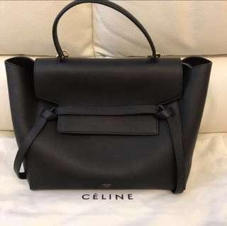 Celine mini belt bag 黑色 專門店貨 勁新淨 有齊package及單據