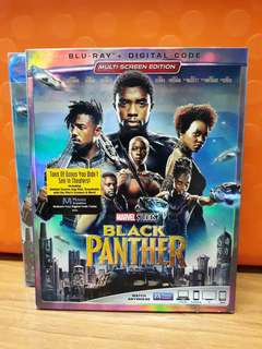 USA Blu Ray - Black Panther (Disney)