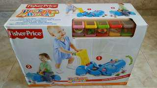 Gobble and Go Hippo Peek a Blocks Fisher Price