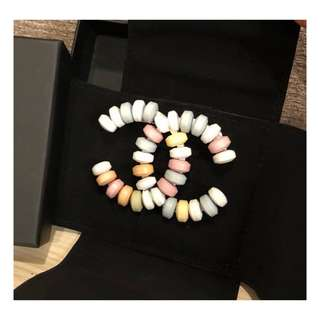 Authentic Chanel CC Candy Brooch