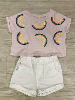 Girl Cotton On Top + Pant