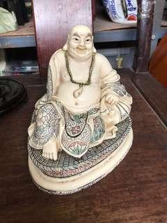 Happy Buddha made of Ivory