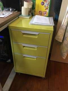 Yellow Drawers