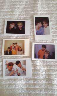 seventeen concert phototcards