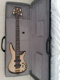 Bass Guitar Ibanez Premium 5 strings new