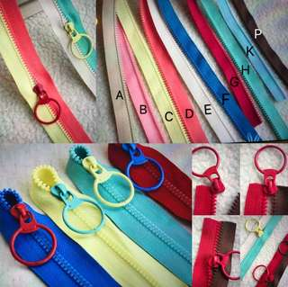 No 3. Size Mix And Match the Zipper Colours