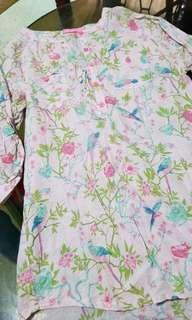 Peppermint long blouse