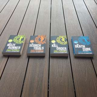 The maze runner complete set