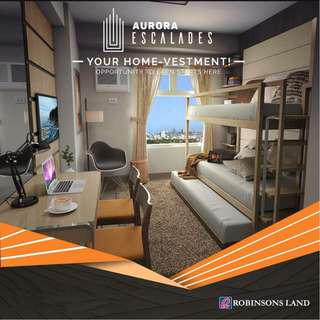 PROPERTY FOR SALE STUDIO UNIT P10,500 PER MONTH 24SQM BY ROBINSONS LAND