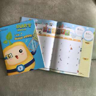 A4 size Diary 2018-19
