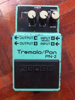BOSS PN-2 Tremolo/Pan pedal
