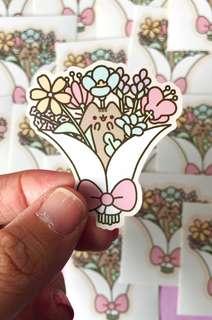 🚚 💖SPECIAL💖 Pusheen Bouquet Scrapbook / Planner Stickers #185