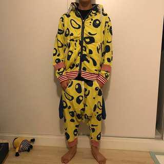 Mercibeaucoup 黃色 熊貓褲