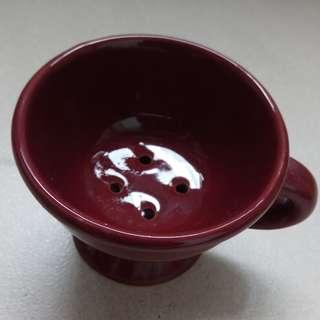 BN Dark Brown Ceramic Incense Burner / Holder