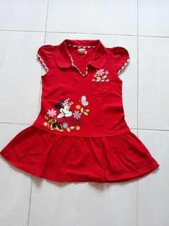 Dress mini mouse red