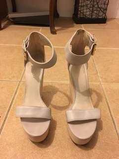 Kookai grey wedges for sale size 38