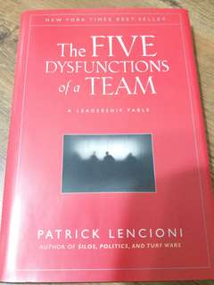 LEADERSHIP The FIVE Dysfunctions of a TEAM