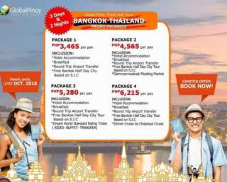 Bangkok Thailand Promo Packages