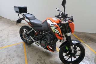 KTM 2016 Duke 200 Owner1 ABV $10K Can DEAL