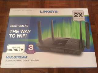 NEW Linksys AC2600 MIMO Max-Stream Router