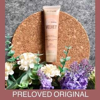 Preloved Maybelline Dream Velvet Soft Matte Hydrating Foundation Shade 20