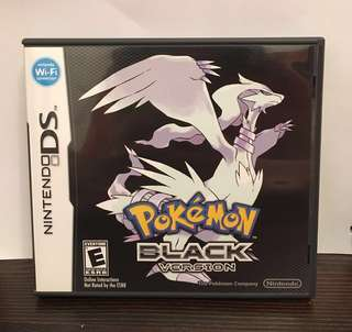 [NDS] Pokémon Black - US VERSION (美版)
