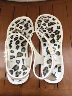 🚚 豹紋夾腳涼鞋