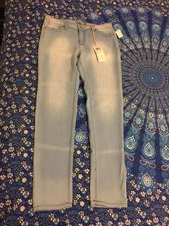 Bnwt Hammer Jean Light Blue Jeans For Sale Size 13