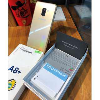 Samsung Galaxy A8+ (2018) 64GB 原廠保固二年 盒裝完整