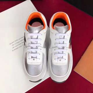 Chanel 18ss春夏運休閒運動鞋 進口牛皮 原版大底size 35-40 HH508888