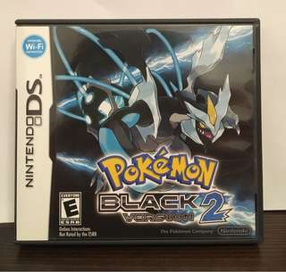 [NDS] Pokémon Black 2 - US VERSION (美版)