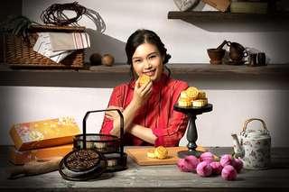 美女廚神Kit Mak-全港熱賣-老師奶皇月餅