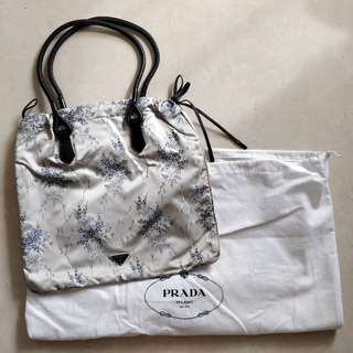 Prada Satin Bag
