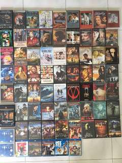 DVD & blu ray movies and tv series (Appleseed/Chicago/bridge to terabitha/funny face/Doctor zhivago/Casablanca/the seven year itch/all about eve/Lawrence of Arabia/animatrix/dangerous lives of altar boys/far from heaven/dogville)