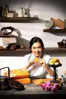 美女廚神Kit Mak - 全港首創。全港熱賣。西班牙黑毛豬果仁月餅