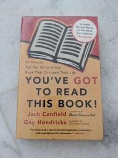 You've got to read this book