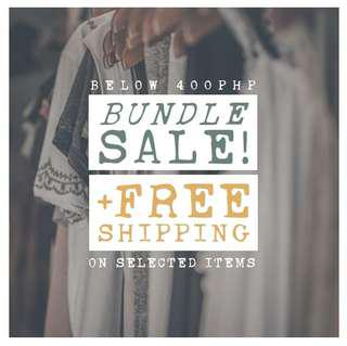 bundle sale + free shipping