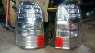 tail lamp albino pfl