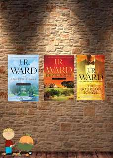 JR Ward The Bourbon Kings E-books