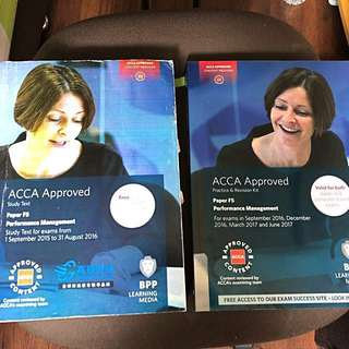 ACCA F5 ( Text book & Revision Kit)
