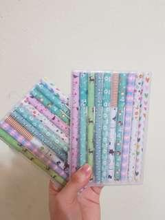 🚚 SET of 10 Pcs Coloured Gel Pens