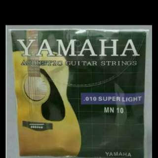 Bran new Yamaha acoustics full set string fix priCe