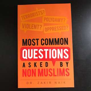 Common questions asked by non muslims
