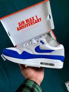 """NIKE Air Max 1 """"Anniversary blue"""" SIZE 9"""