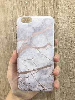 Rose Gold Marble Iphone 6/6s Case