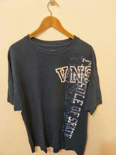 🚚 #半價衣服市集 七成新美國Vans 街頭滑板品牌大厚磅男短袖T XL