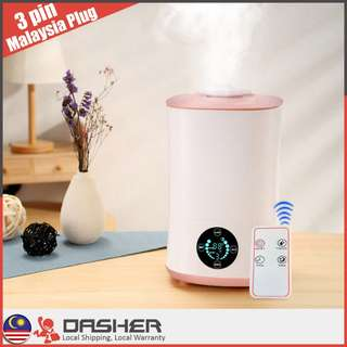 [LATEST] Humidifier Large Capacity 4L Remote Control Touch Screen Aromatherapy Aroma Diffuser Essential Oil